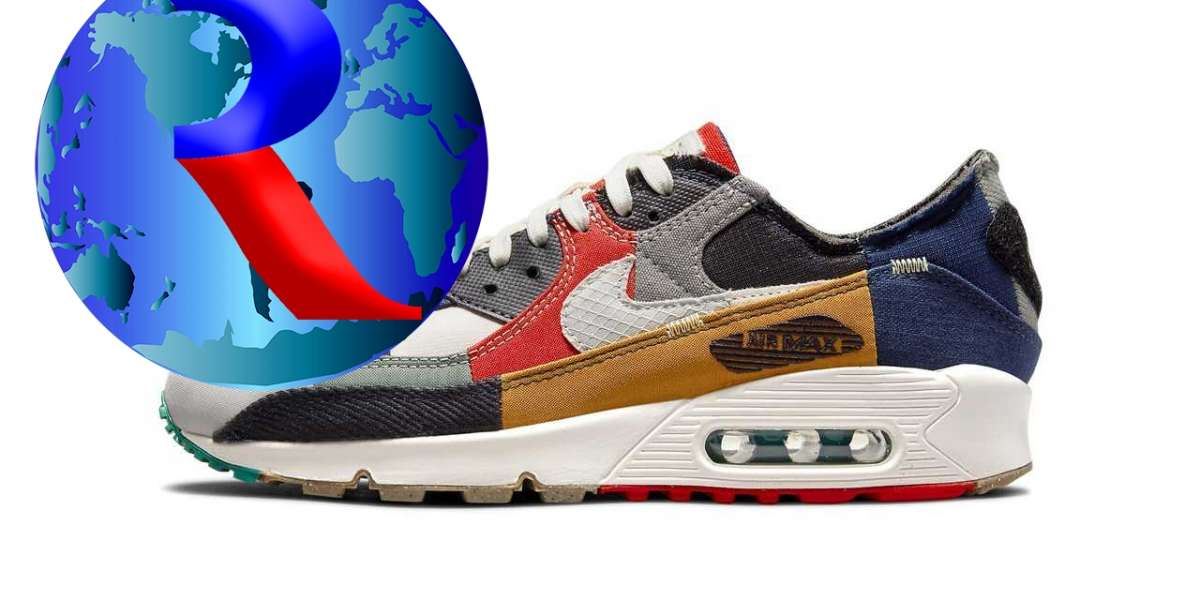 """Latest 2021 Nike Air Max 90 """"Scrap"""" Lifestyle Shoes"""